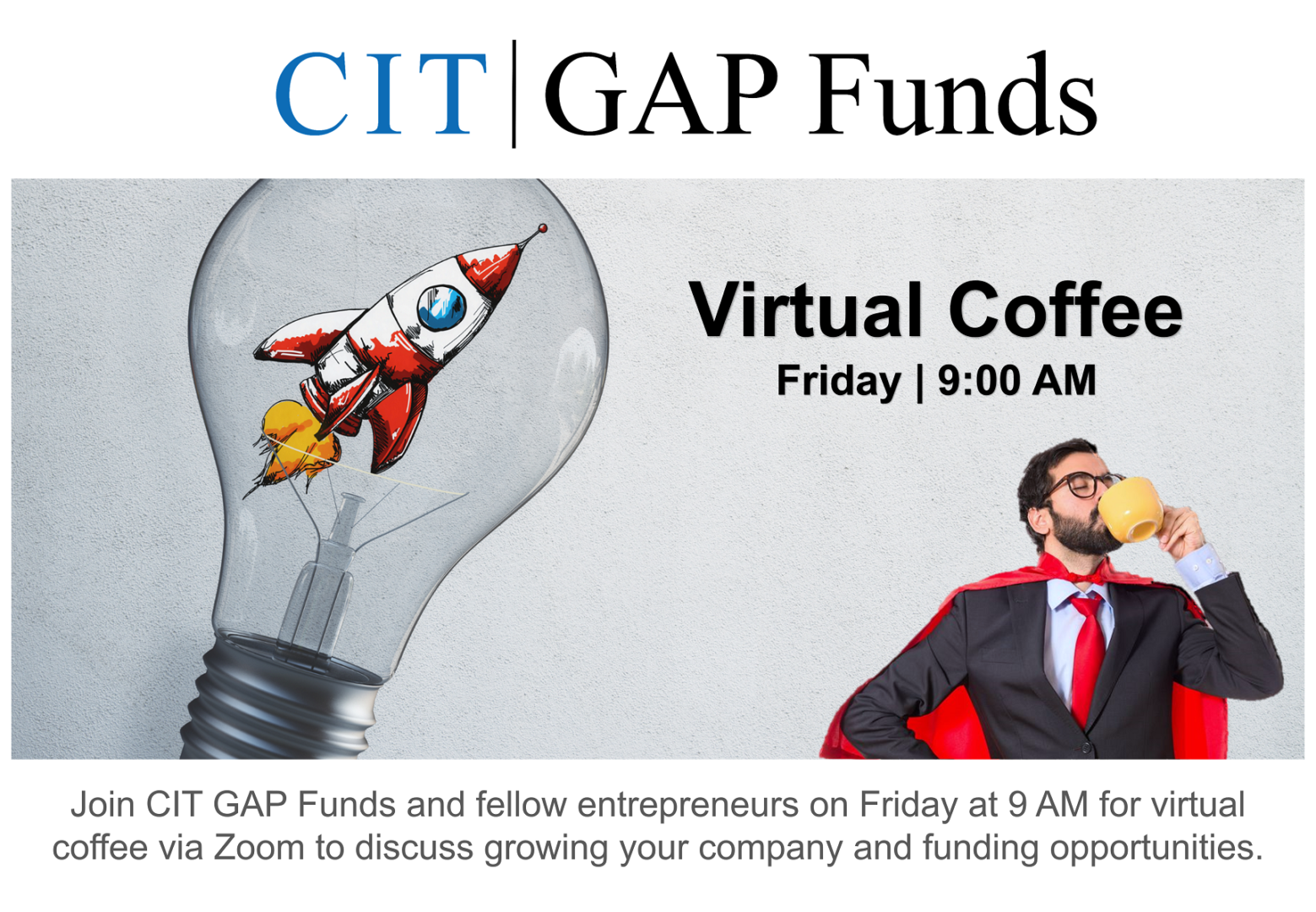 GAP Virtual Coffee Graphic FINAL No Treatment with Evergreen Event Information